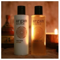 Argan 200 ml Body lotion fekete kupakkal